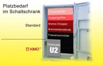 Platzbedarf Transomik U2